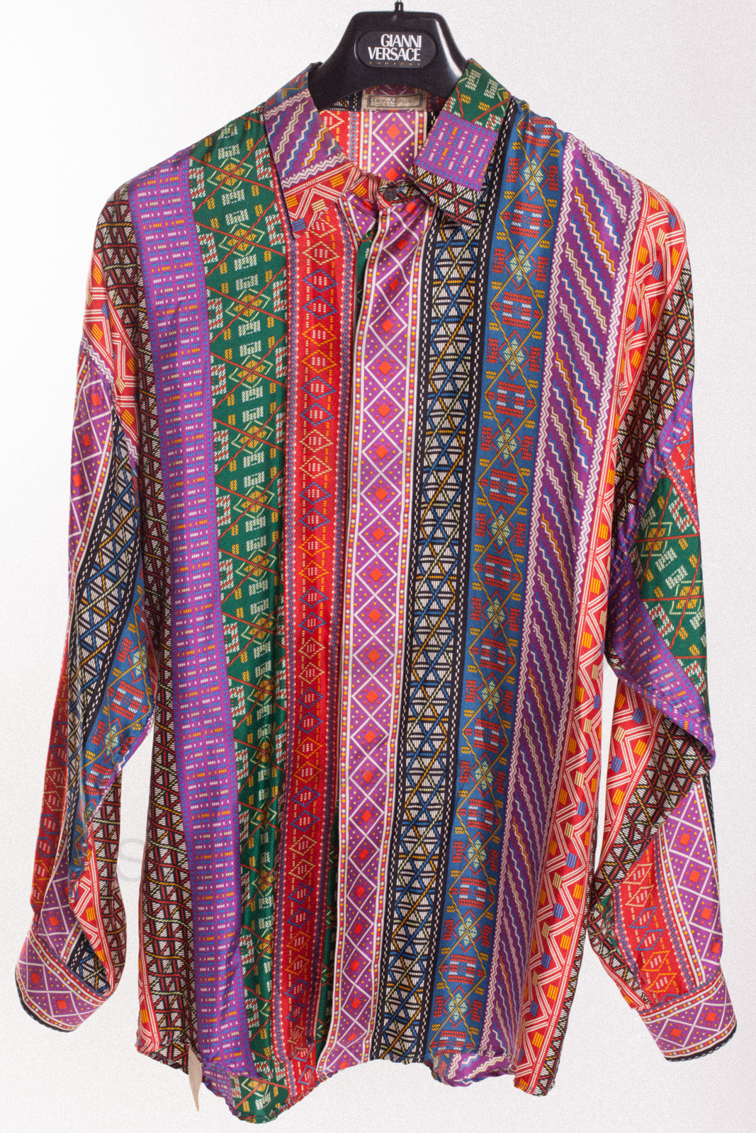Gianni Versace Silk Shirt Sammy Amp Nino S Store