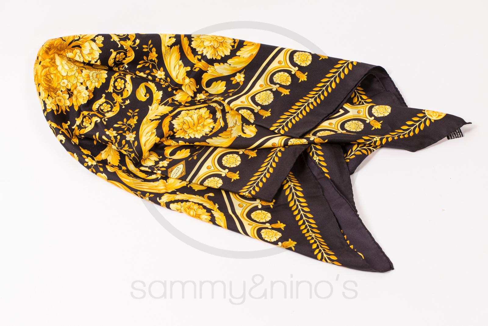 United Luggage Size Gianni Versace Silk Foulard Scarf Sammy Amp Nino S Store