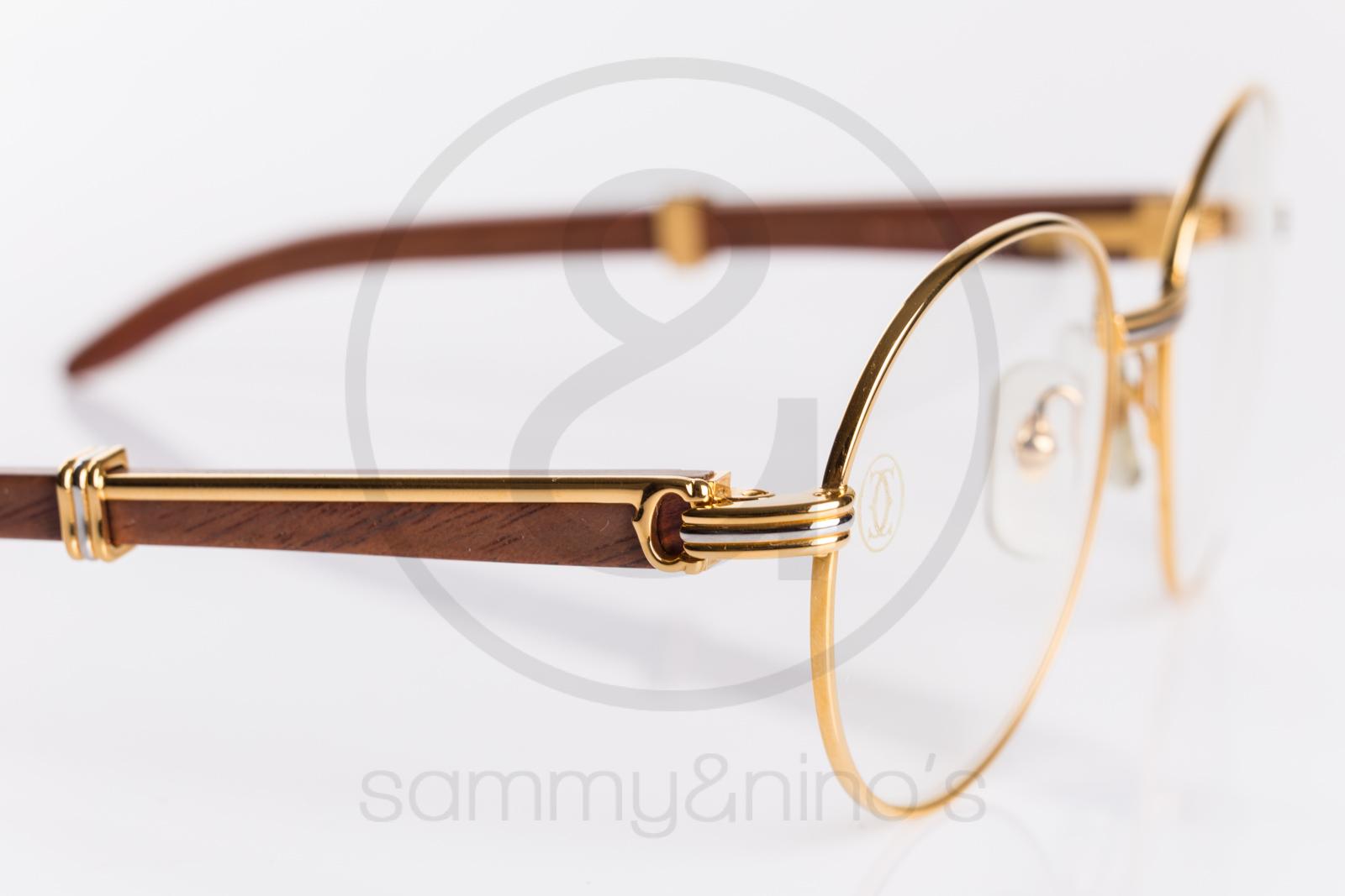 Cartier Glasses Gold Frames : Cartier Bagatelle 55-18 Sammy & Ninos Store