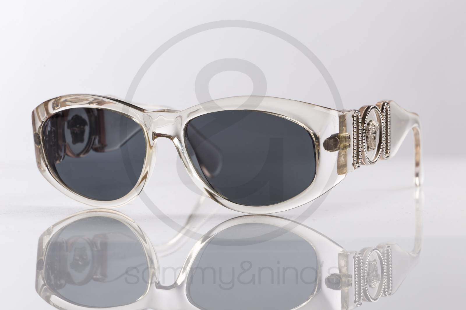 Clear Frame Versace Glasses : Gianni Versace 424/B 924 Sammy & Ninos Store