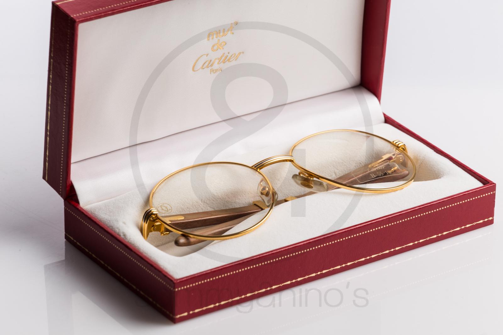 designer cartier vmot  Designer Cartier Rimmed Sunglasses-001