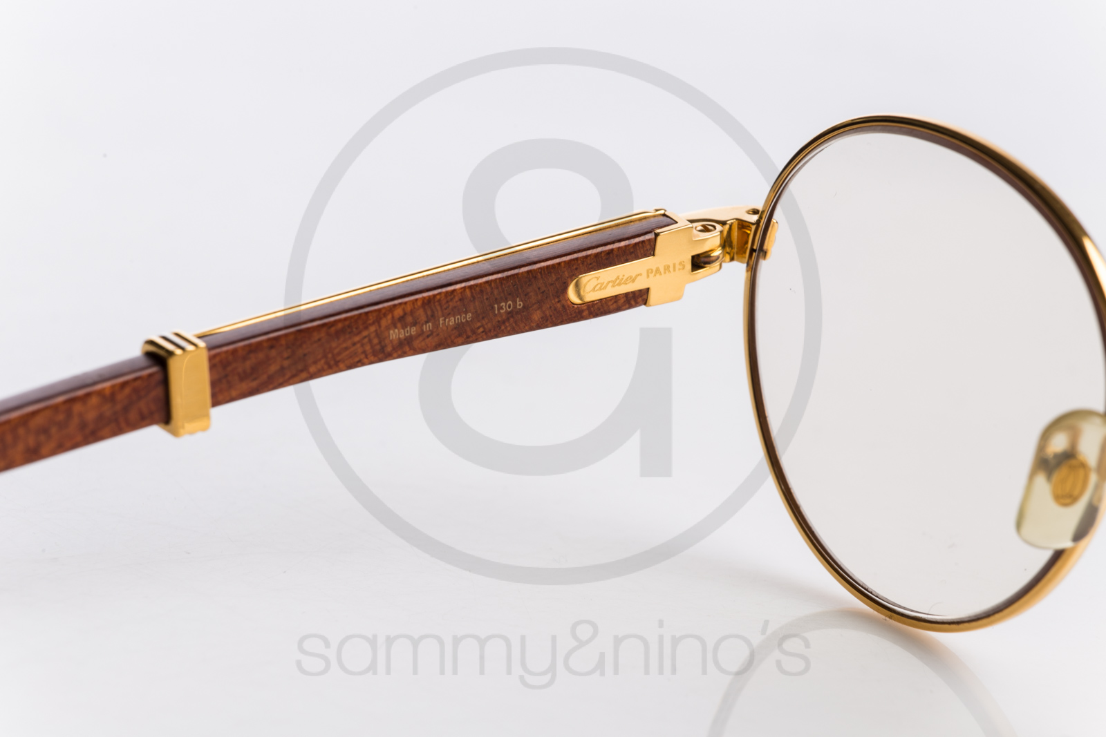 Cartier Gold Frame Sunglasses : Cartier Bagatelle 52-18 Sammy & Ninos Store