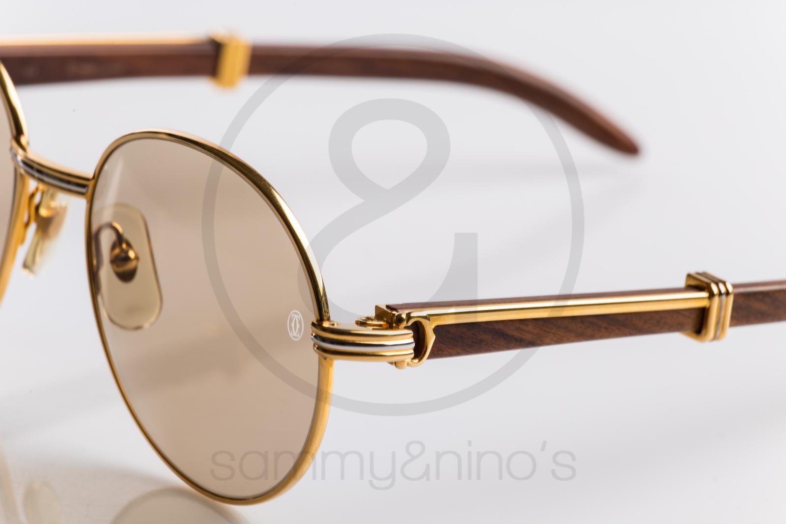 Cartier Sunglasses Wood Frame | Les Baux-de-Provence