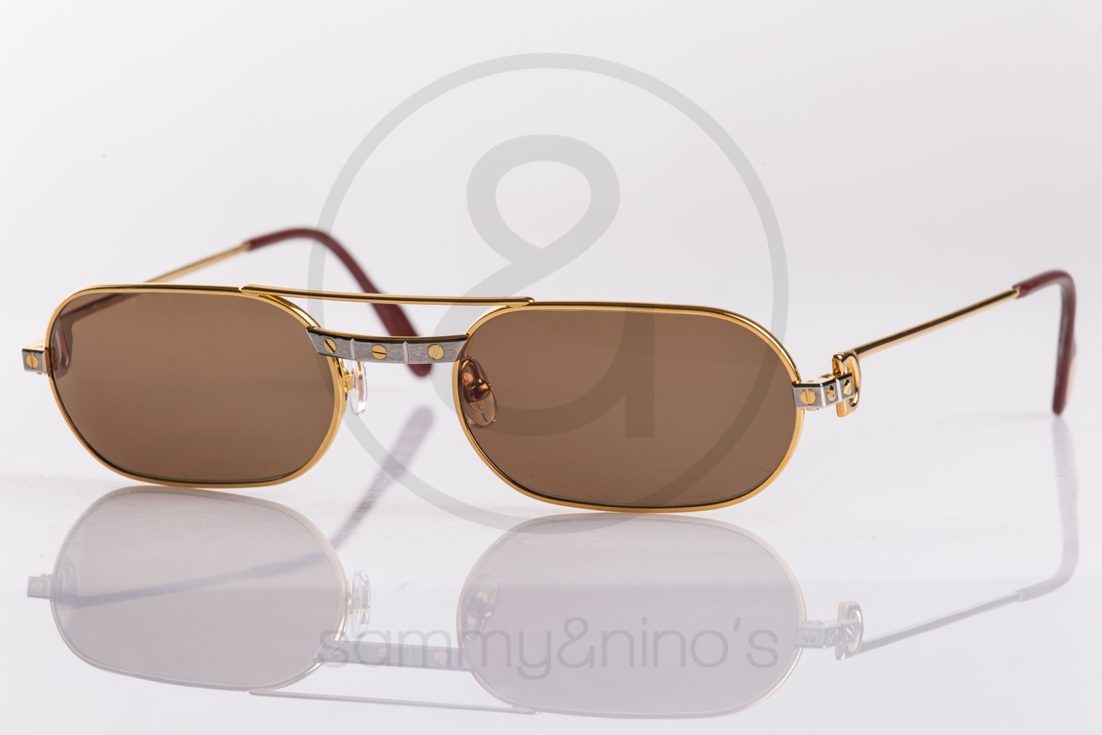 9e1d07fa9ad Cartier Must Santos 55-20 – Sammy   Nino  39 s Store cartier sunglasses  Archives « Blink Optic Blog ...