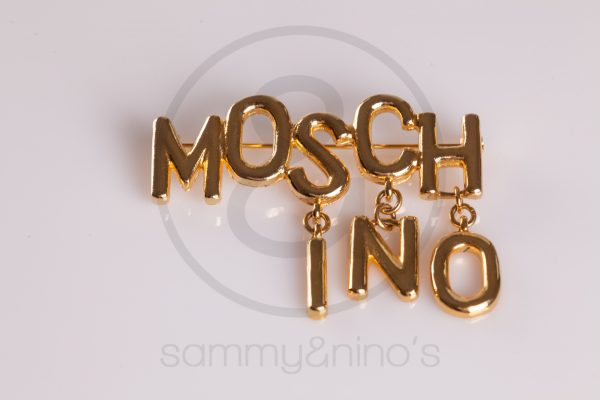 Moschino pin brooch Vintage Sunglasses Accessories – Sammy Ninos-1106