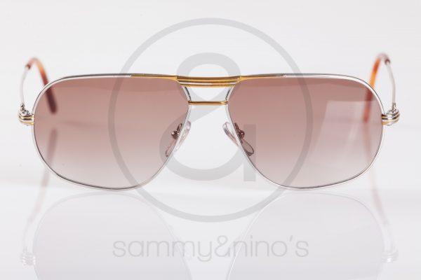 vintage Cartier tank sunglasses platinum sammyninos 2