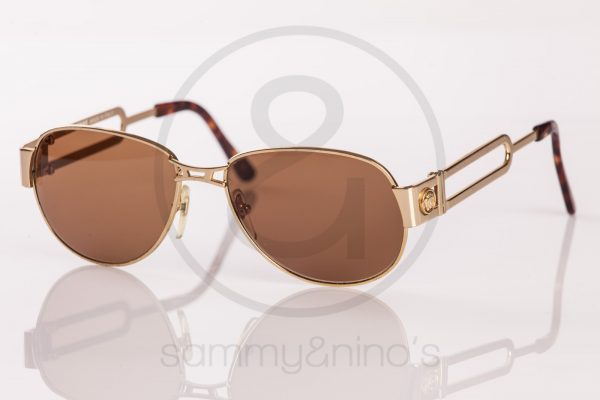 vintage Gianni Versace S56 sunglasses gold sammyninos 1