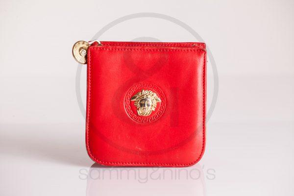 vintage Gianni Versace coin wallet medusa gold sammyninos 1