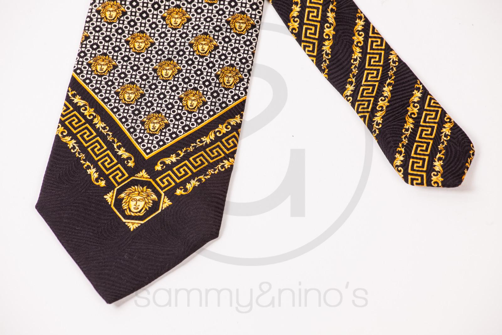 d6d2517bdd98 Gianni Versace silk tie – Sammy   Nino s Store