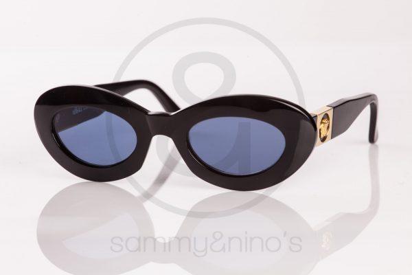 vintage gianni versace 415C sunglasses black sammyninos 1