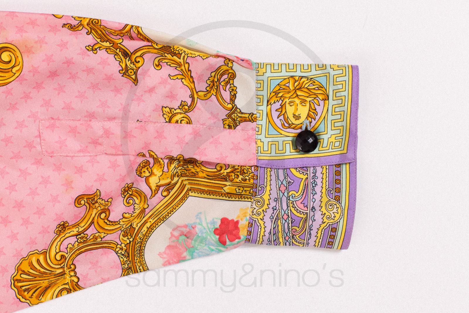 Gianni Versace Silk Shirt Sammy Ninos Store
