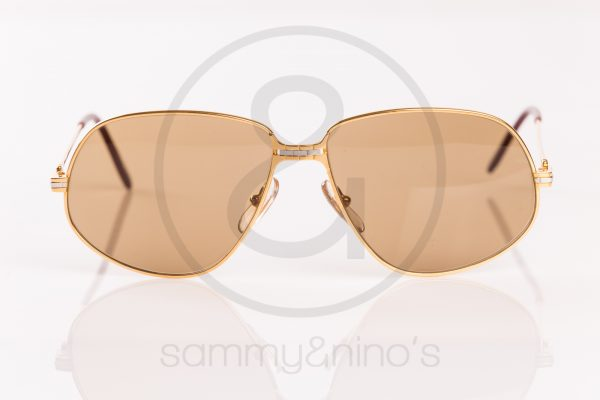 31fa7d8f9a65 vintage Cartier sunglasses Panthere gold sammyninos 2