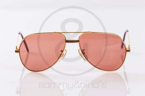 2390ab9ecb42 vintage Cartier Vendome Laque sunglasses gold sammyninos 4