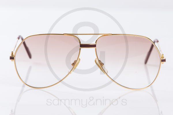 3d01ce382662a vintage Cartier Vendome Laque sunglasses gold sammyninos 5