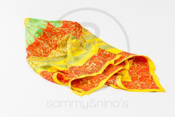vintage Gianni Versace silk foulard atelier versace  sammyninos 5