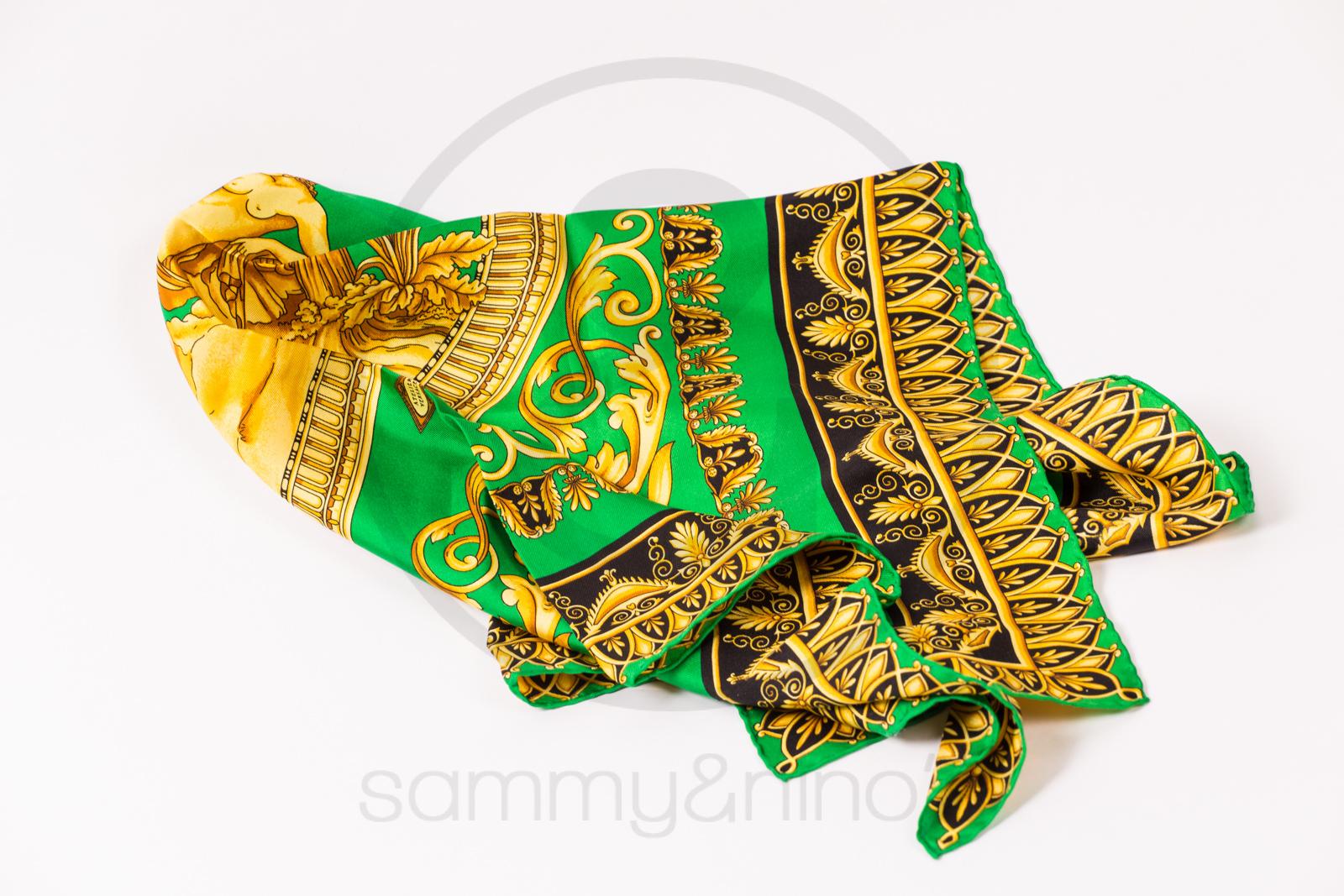d9da5601c9b1 Gianni Versace silk foulard scarf – Sammy   Nino s Store