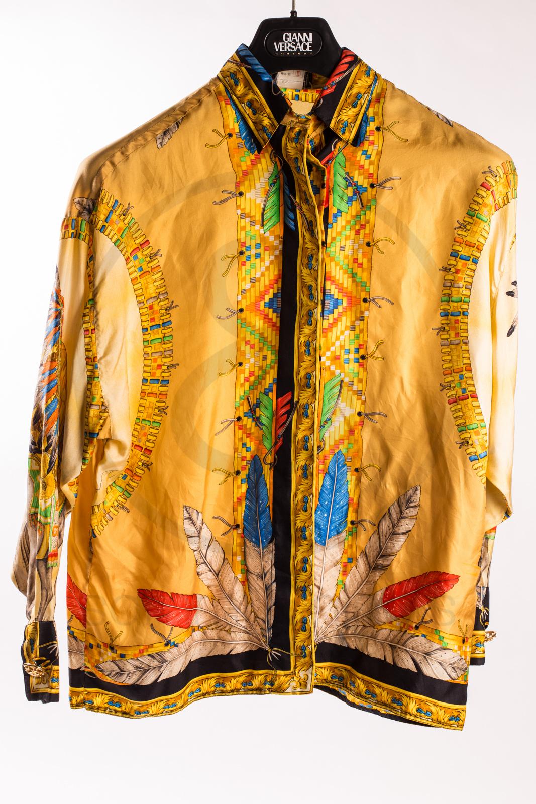 300f0279 Cheap Vintage Versace Silk Shirts - DREAMWORKS