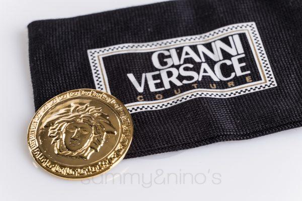 vintage GIanni Versace brooch medusa pin sammyninos 1