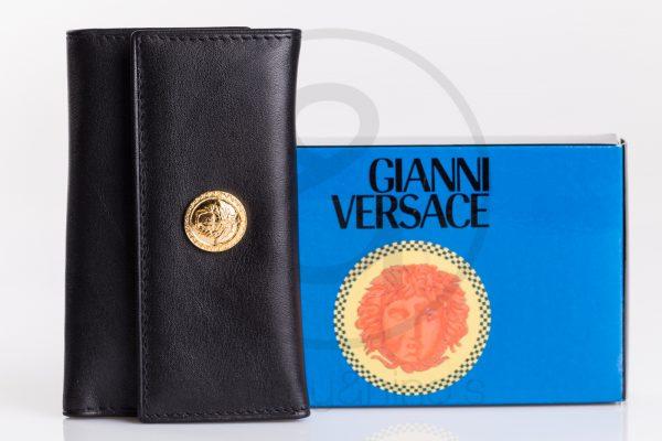 vintage GIanni Versace wallet medusa leather sammyninos 2
