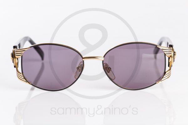 6f33d3ad6d4a vintage Gianni Versace sunglasses S64 black gold sammyninos 2