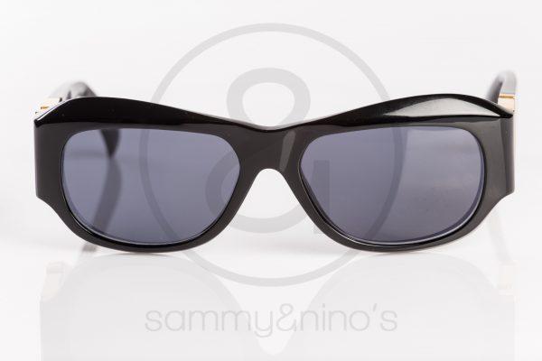 e1c012d4b5fb vintage Gianni Versace sunglasses T75 black gold sammyninos 2