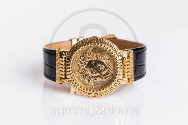 cfe349abb6b7 vintage Gianni Versace watch gold medusa sammyninos 4