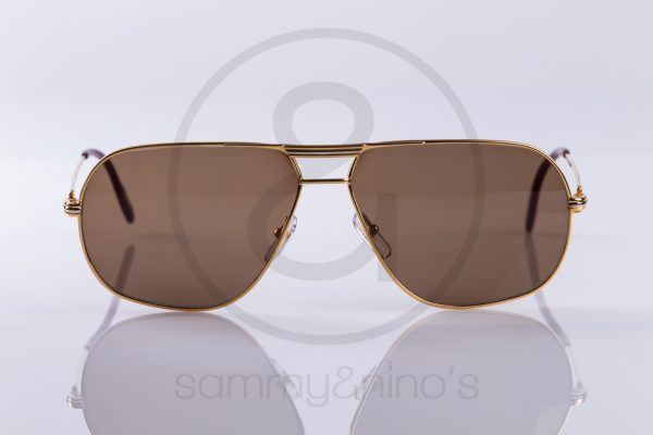 e785327c38c69 vintage Cartier Tank sunglasses sammyninos 2
