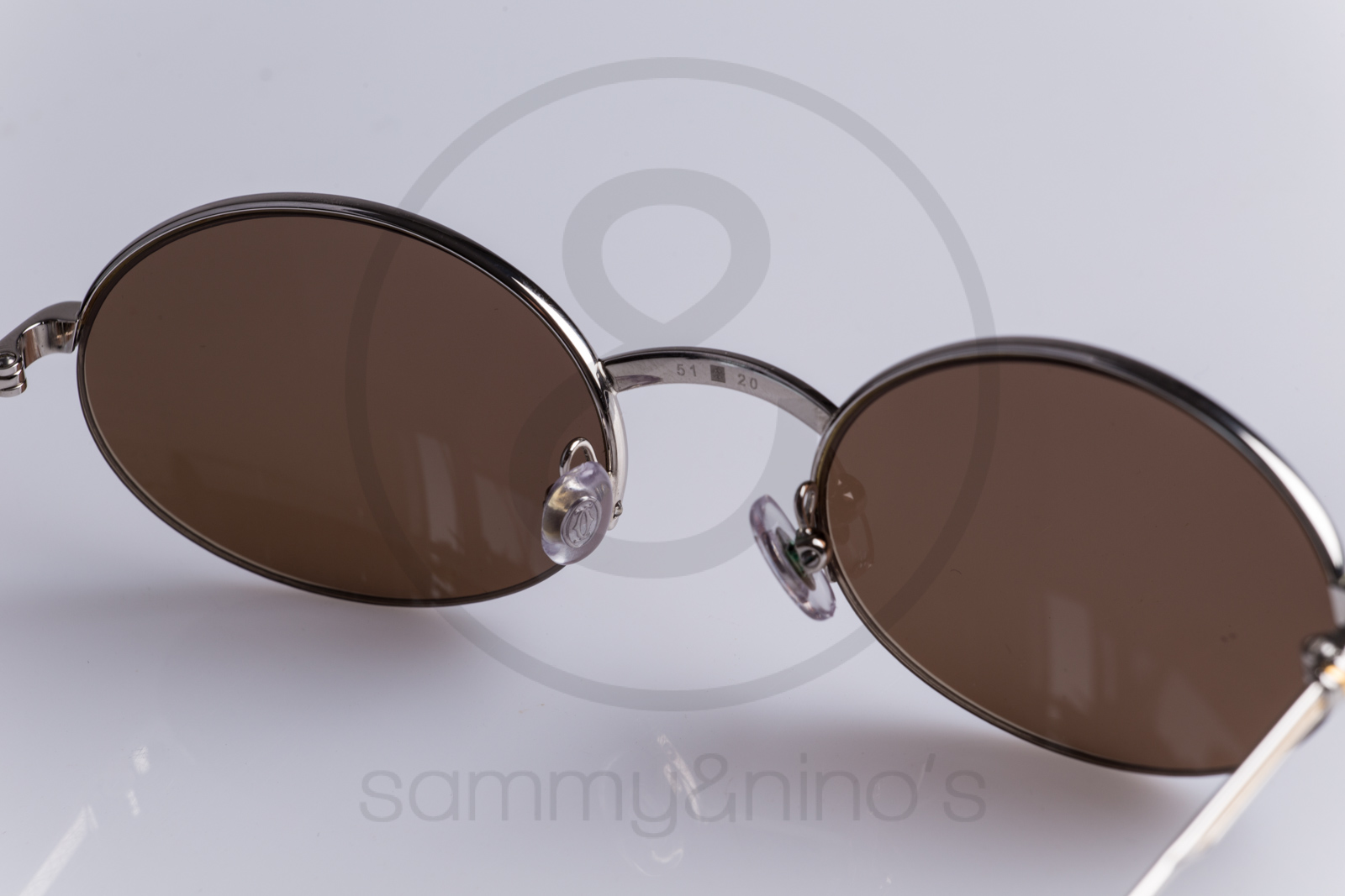 d0b78d0219 Cartier Rimless Platinum Sunglasses « One More Soul
