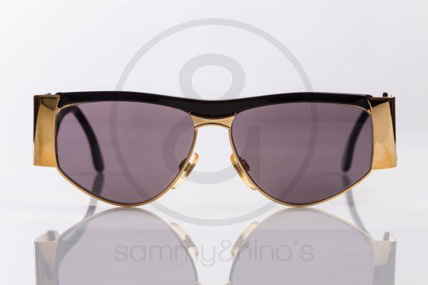 f46bdf8d1f vintage BrillArte 1013 sunglasses frames black gold sammyninos 2