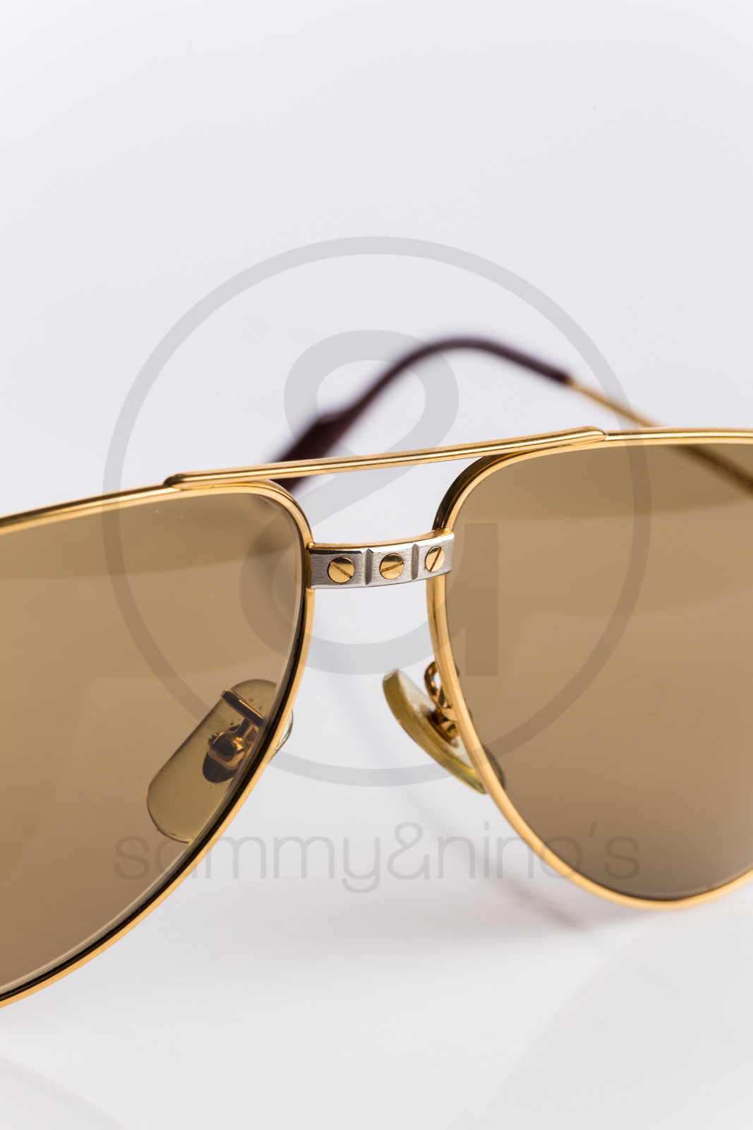 851d543c2101 Cartier Santos Aviator Sunglasses Dumont - Restaurant and Palinka Bar