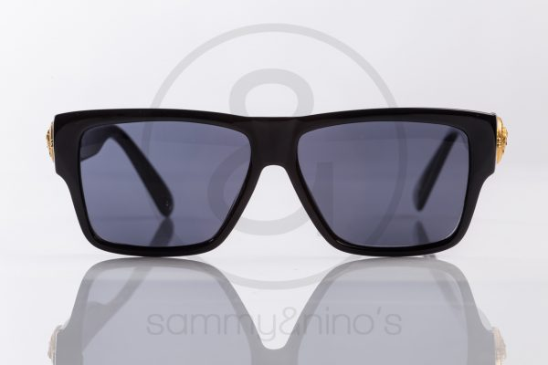 e61c7b25539 vintage Gianni Versace 372dm sunglasses sammyninos black gold frames 2