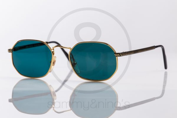 66cf6fa7ba75 vintage Gianni Versace G09 sunglasses gold sammyninos frames 1