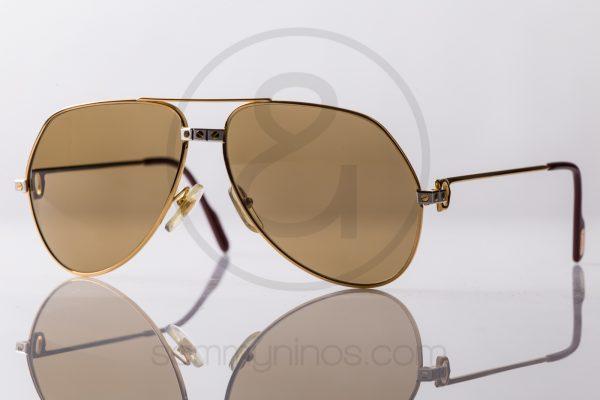 vintage-cartier-sunglasses-vendome-santos-gold-1