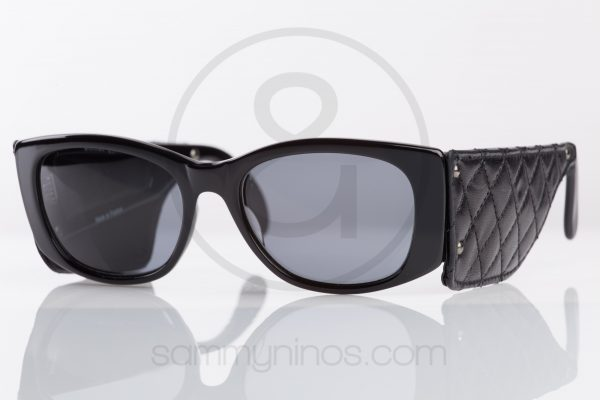vintage-chanel-sunglasses-1988-leather-lunettes-1