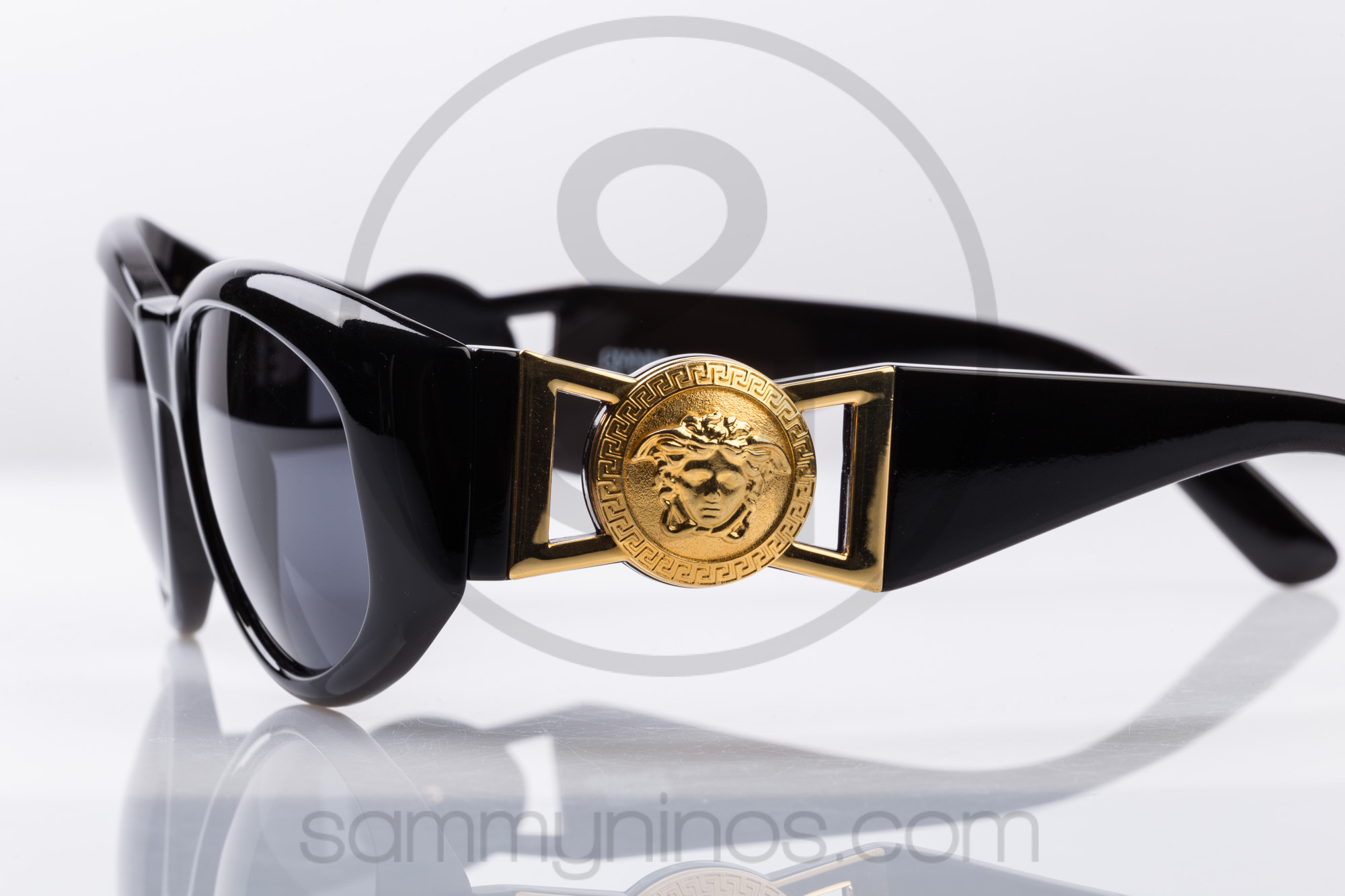 143488c0d32c Vintage Versace 424 Col 852 Sunglasses Gold Medusa - Welcome To Miami