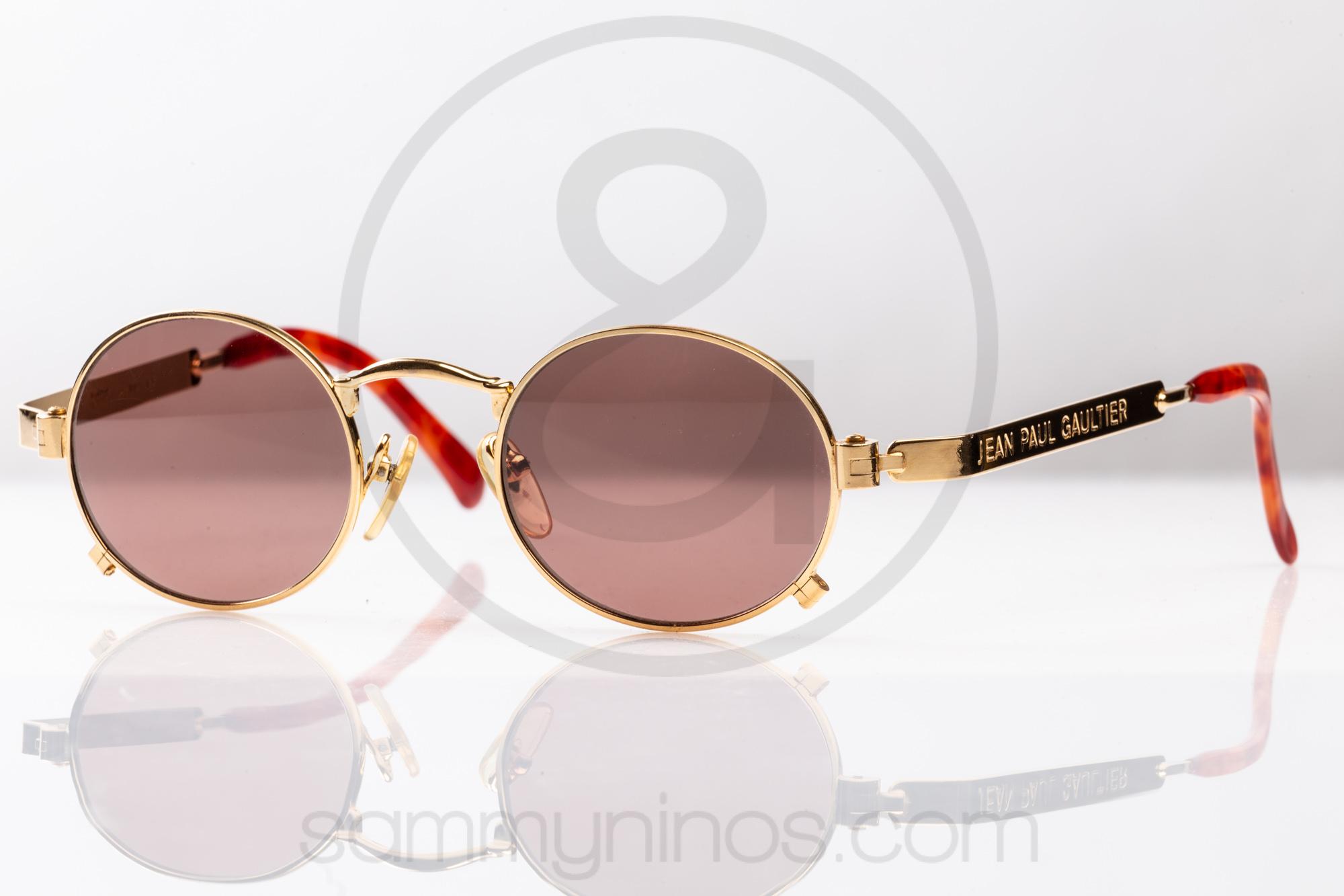 94bc22b11 Jean Paul Gaultier Sunglasses Men Source · Jean Paul Gaultier 56 1173 Sammy  & Nino s Store